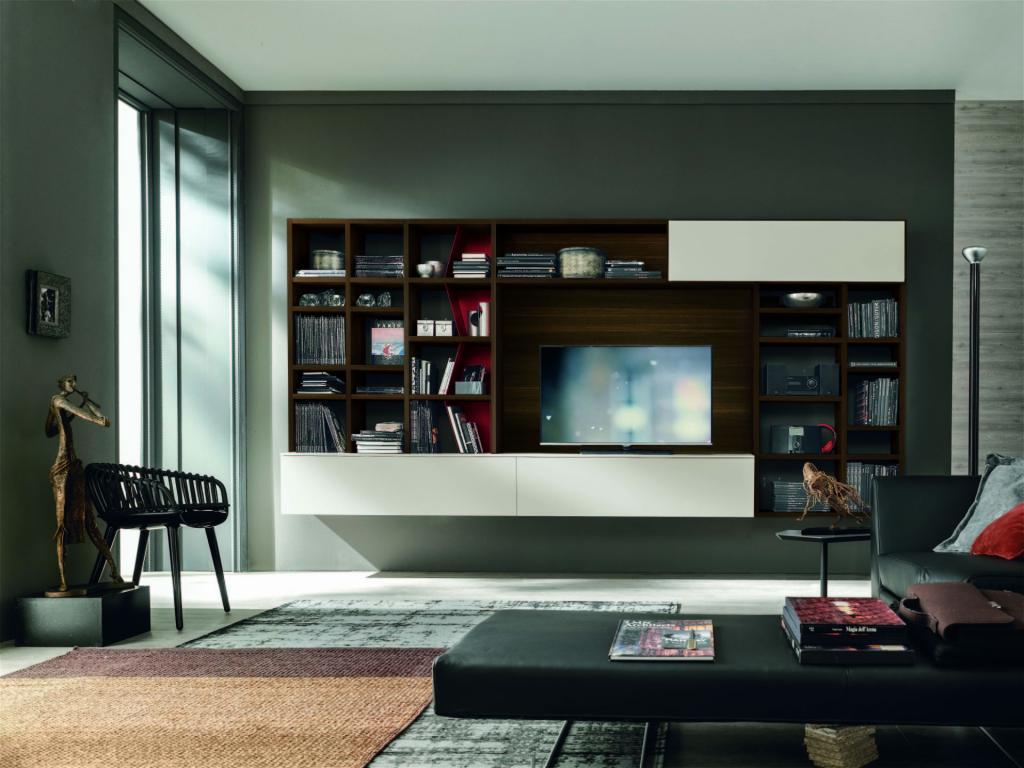 Mobile soggiorno moderno componibile | Sala Arredamenti Lecco