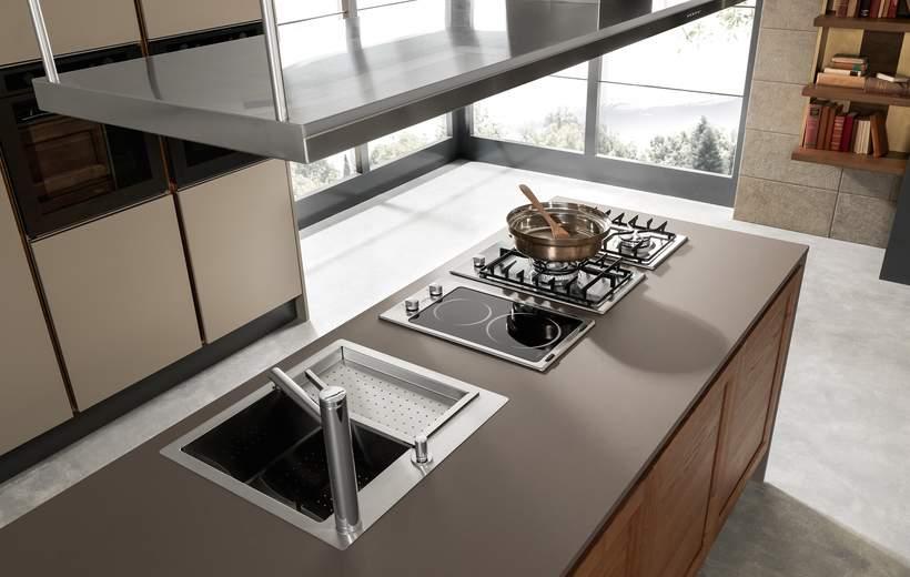 Febal cucina moderna linea class line sala arredamenti lecco for Piano cottura leroy merlin