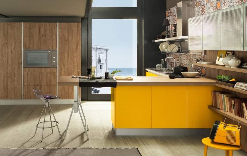 Cucine Moderne Febal Modello Sand Industrial Edition | Sala ...