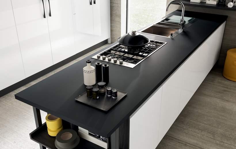 Cucine Moderne Febal Linea Marina Line  Sala Arredamenti Lecco