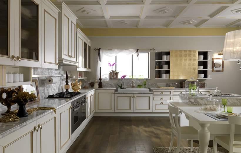 Cucine Classiche Febal Linea Romantica Decor | Sala Arredamenti Lecco