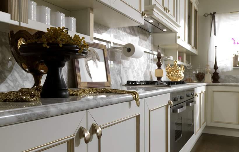 Cucina Classica Febal Linea Romantica Decor | Sala Arredamenti Lecco