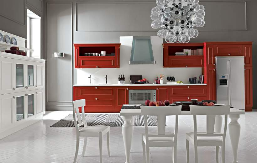 Cucine classiche febal romantica sala arredamenti lecco - Cucine classiche febal ...