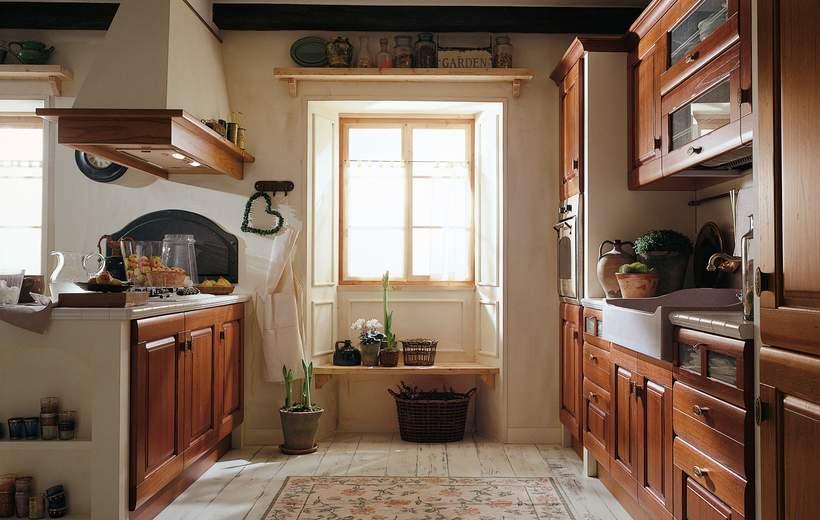 Cucina classica febal rosa sala arredamenti lecco - Febal cucine classiche ...