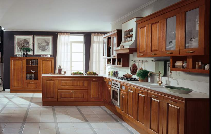 Cucine classiche febal modello rosa sala arredamenti lecco - Cucine classiche febal ...