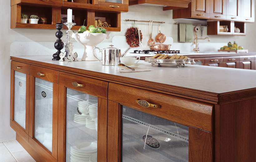 Cucina classica febal modello rosa sala arredamenti lecco - Febal cucine classiche ...