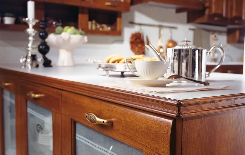 Cucina classica febal linea rosa sala arredamenti lecco - Cucine classiche febal ...