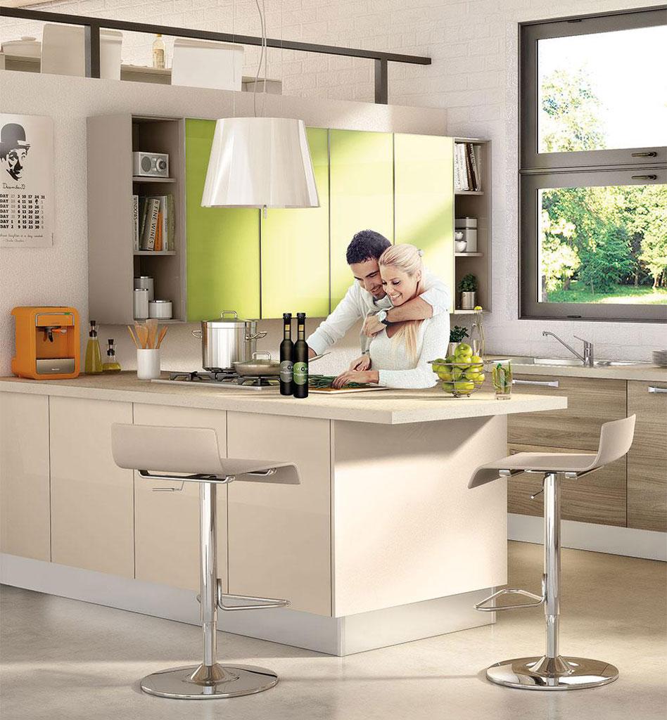 Cucina Lube Modello Noemi #1 | Sala Arredamenti Lecco
