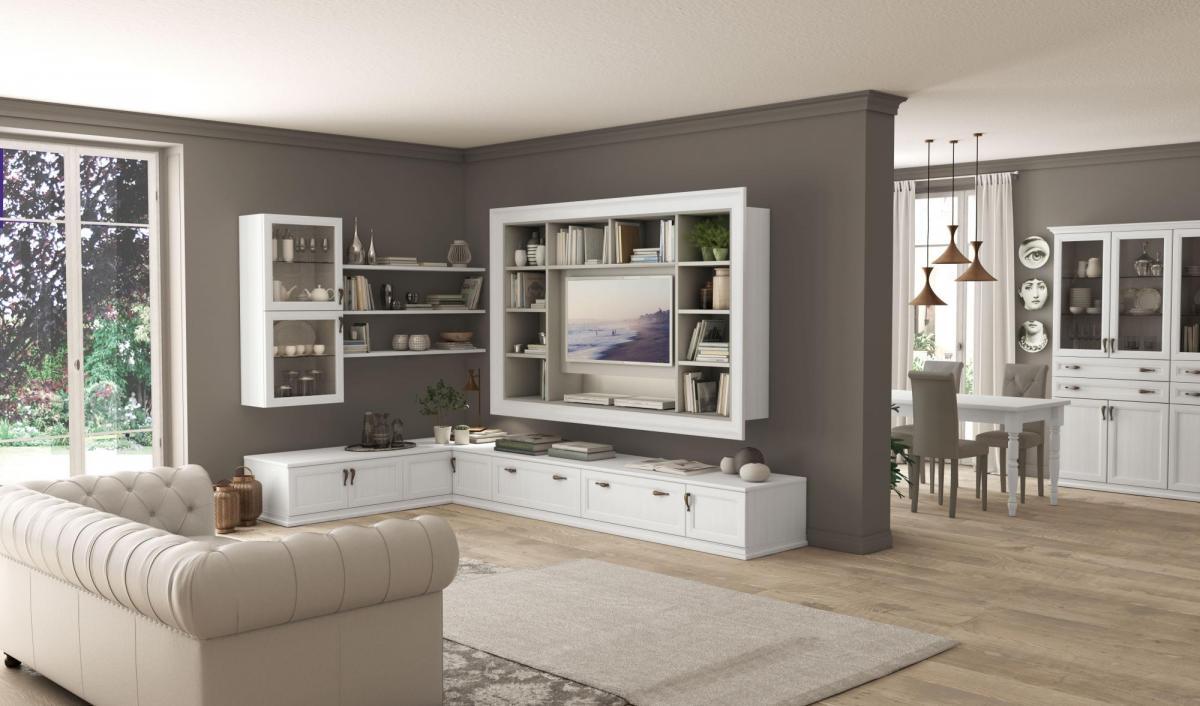 Soggiorno Arcadia Colombini con parete porta TV | Sala Arredamenti Lecco