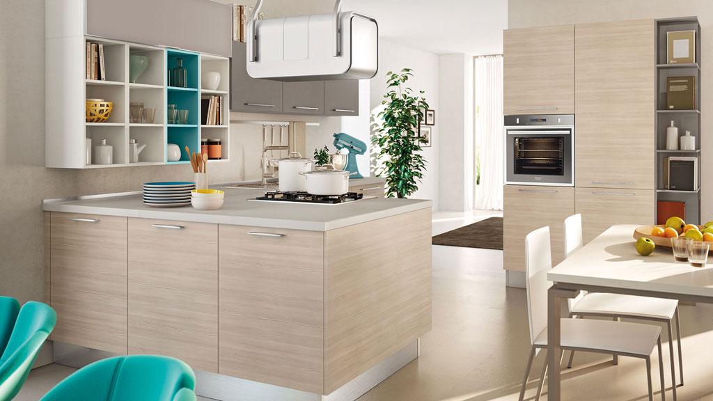 Cucina Lube modello Swing con cappa a vista #2 | Sala Arredamenti Lecco