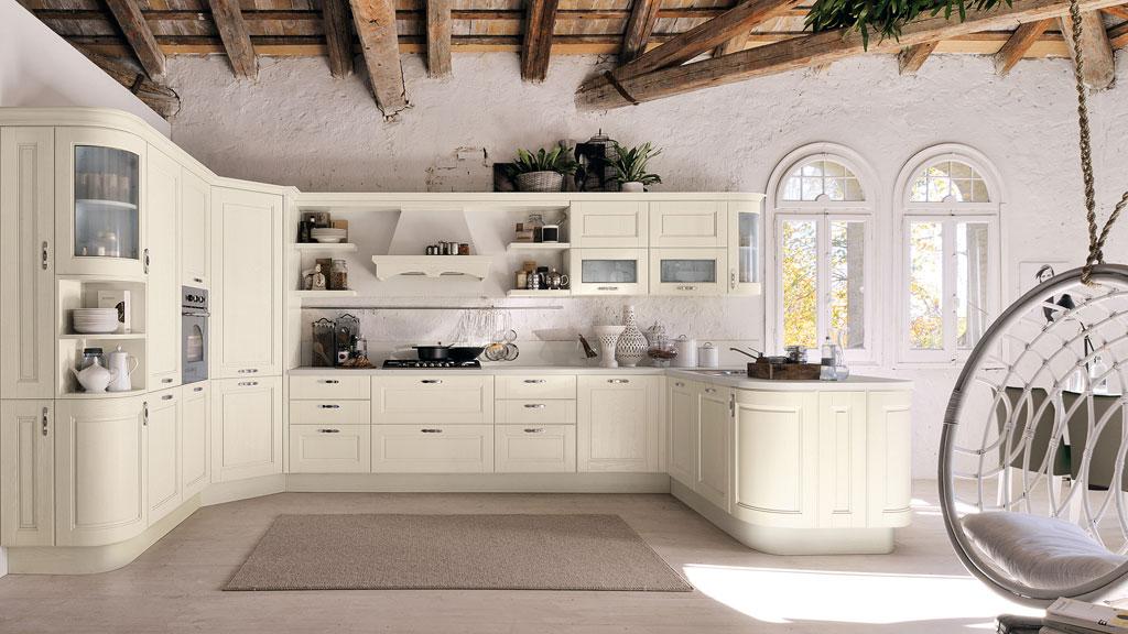 Gamma finiture cucina Lube Classica Agnese #5 | Sala Arredamenti Lecco