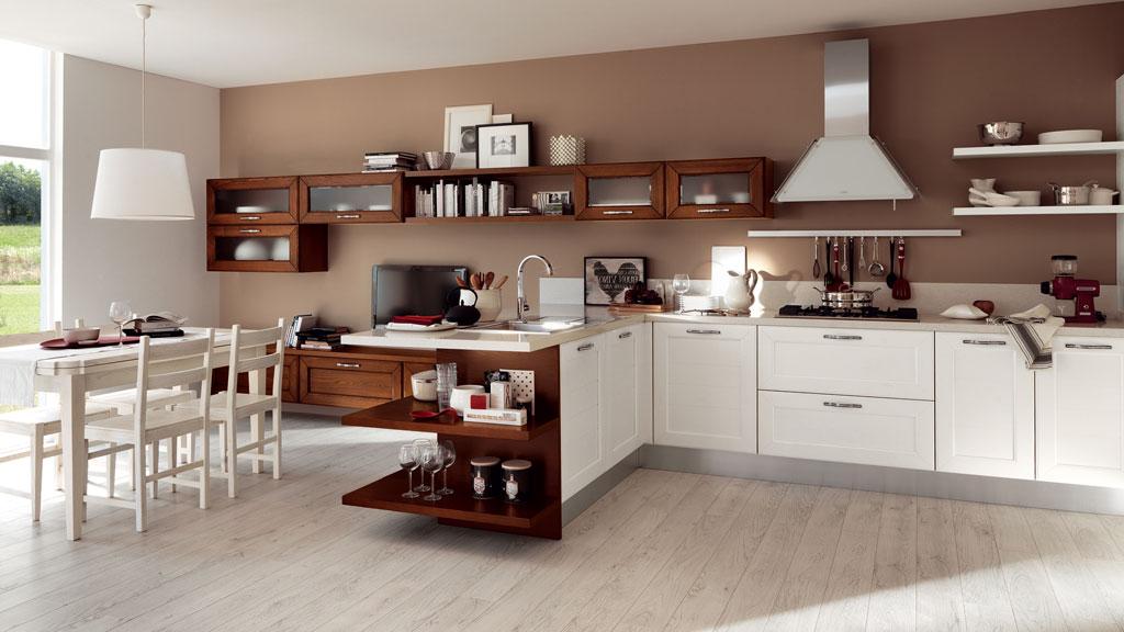 Cucina E Soggiorno Classici Lube Claudia 3 Sala Arredamenti Lecco