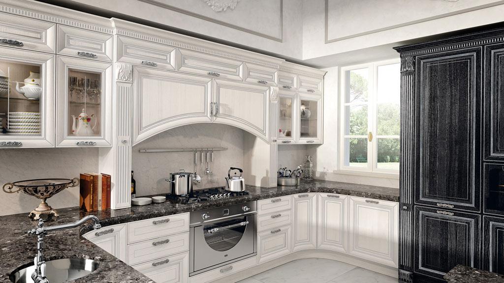 Accessori cucina classica lube pantheon 4 sala arredamenti lecco - Cucina lube classica ...