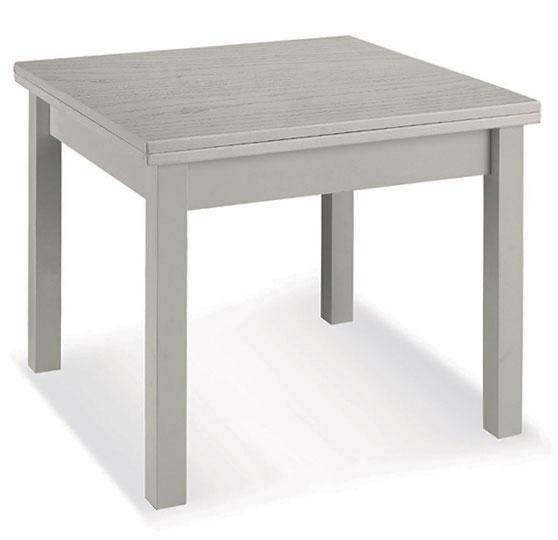 Tavolo In Legno Quadrato Allungabile.Tavolo Quadrato Allungabile In Legno Lube Mod Boer 4 Sala