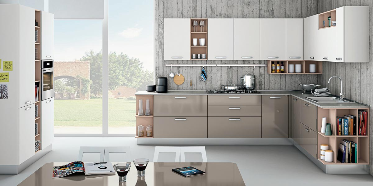 Zoe cucina contemporanea Creo Kitchens