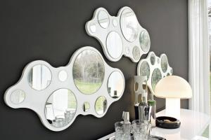 Specchio design Bubbles by Connubia Calligaris