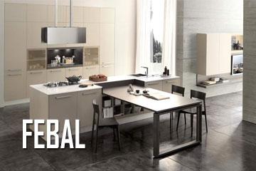 Cucine classiche e moderne e living cucina sala - Febal casa prezzi ...