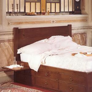 Promo e offerte camere e cabine armadio sala arredamenti - Letto matrimoniale cassetti ...