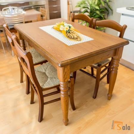 Tavolo e 4 sedie cucina cecilia lube scontato sala arredamenti lecco - Tavolo con sedie offerte ...