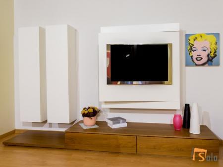 Saldo soggiorno Fimar con porta tv orientabile   Sala Arredamenti Lecco