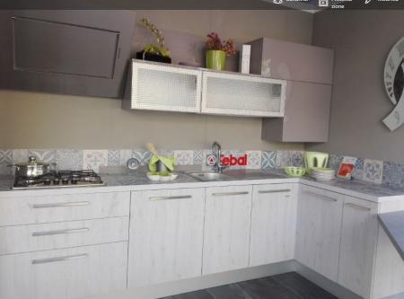 Promozione cucina angolare Febal mod Ice | Sala Arredamenti Lecco