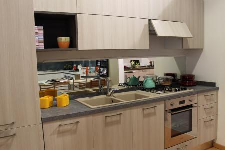 Promozione cucina lineare Colombini mod. Quadra | Sala Arredamenti Lecco