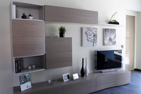 Prezzo soggiorno mod Live Napol il vero legno | Sala Arredamenti Lecco
